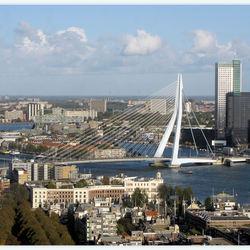 Uitzicht euromast Rotterdam