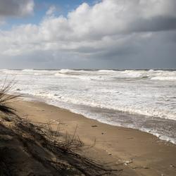 Texel - storm bij Paal 9...