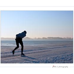 Vroege schaatser