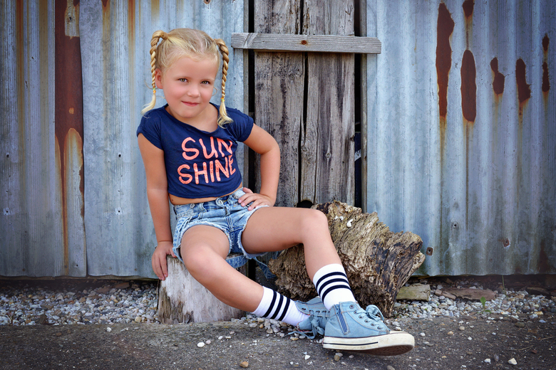 Little girl -
