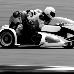 Classic sidecar TT Circuit Assen