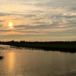 Polderlandschap bij Waddinxveen
