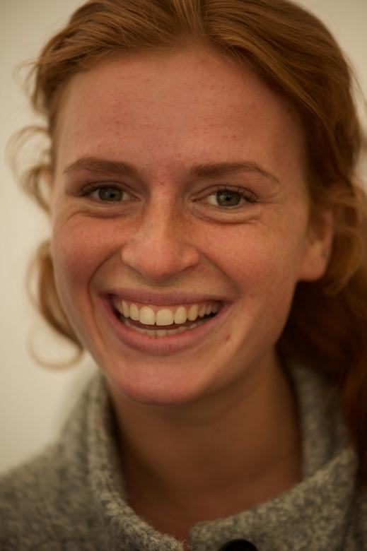 Mooie Dame bij de Red Hair Days in Breda NB.