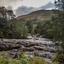 Waterval bij Killin Schotland
