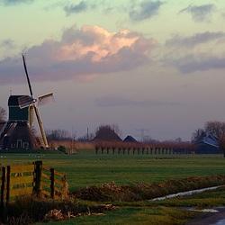 molen en wolken