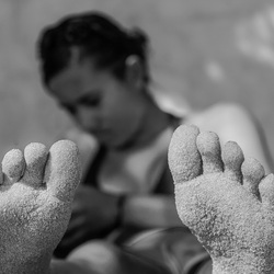 Zomer: Met de voeten in het zand