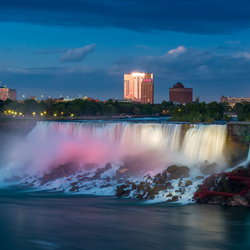 Luminated falls