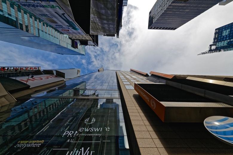 Duizeling - Wat zijn ze hoog, maar na een minuut of 20 lopen tussen de gebouwen weet je niet beter....