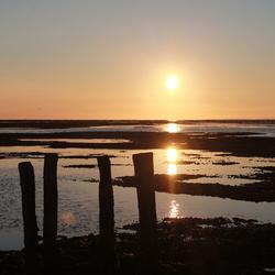 Zonsondergang Zeedijk