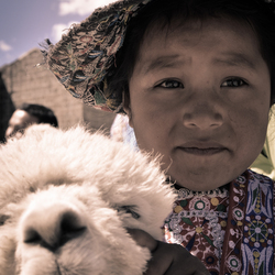 Portret van Peru