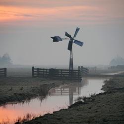 Een vroege zaterdagmorgen in Zuidschermer