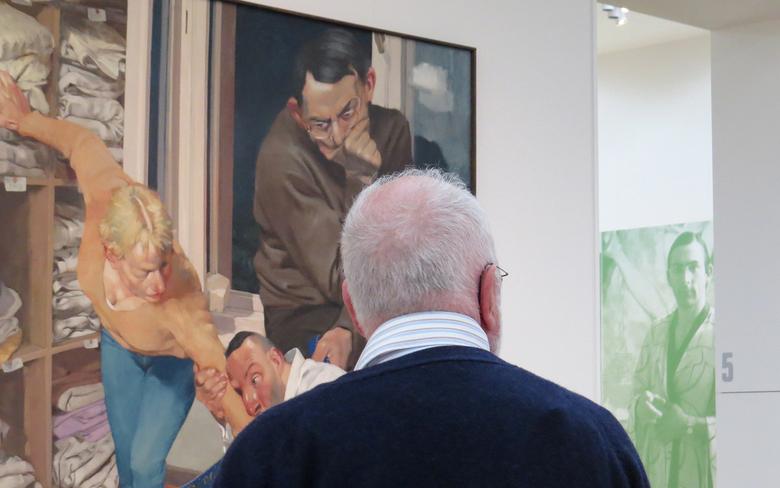 Wie houdt wie in de gate? - Nog een foto uit mijn serie Museum More te Gorssel, voor de liefhebbers van de vorige.....