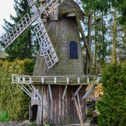 Handgemaakte molen