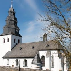 Witte kerk.