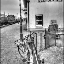 verlaten fiets op stoomdepot Beekbergen