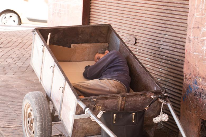 Tukkie doen of bakkie doen? - Kennen ze in Marokko ook een siesta?