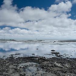 Spiegeling wad Vlieland