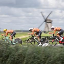 Nederlandse mannen mix relay