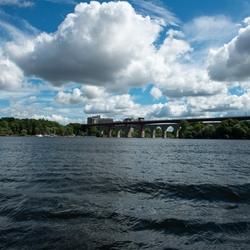 Stockholm under the bridges
