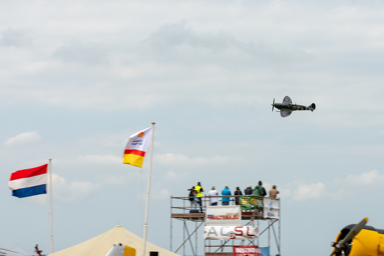 Spitfire fly by -