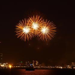 vuurwerk Rotterdam 3-5-09