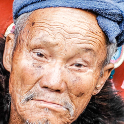 Een oude chinees