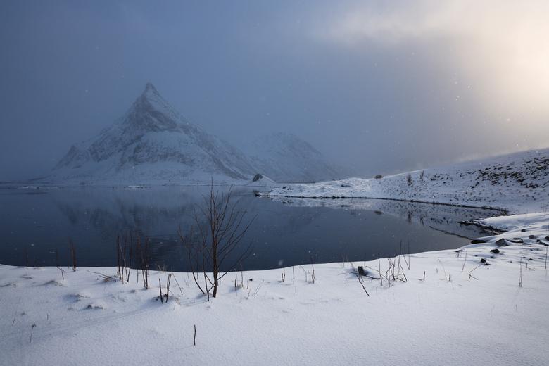 Fresh snow - Winter in de Lofoten