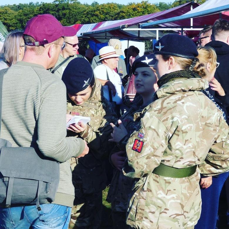 British female cadets at Market Garden  -
