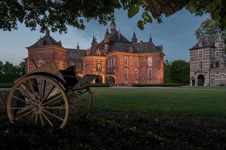 Kasteel de Merode Westerlo (2) - Op een avond in Westerlo. België