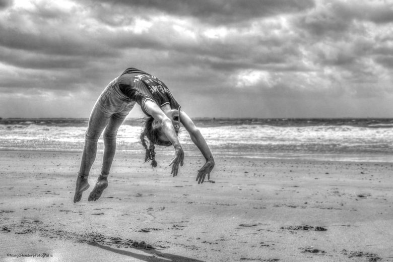 turnen op het strand - turnen op het strand