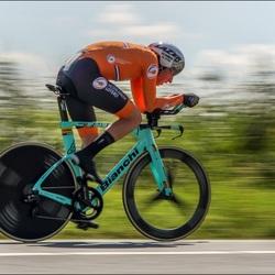 EK wielrennen tijdrit mannen.