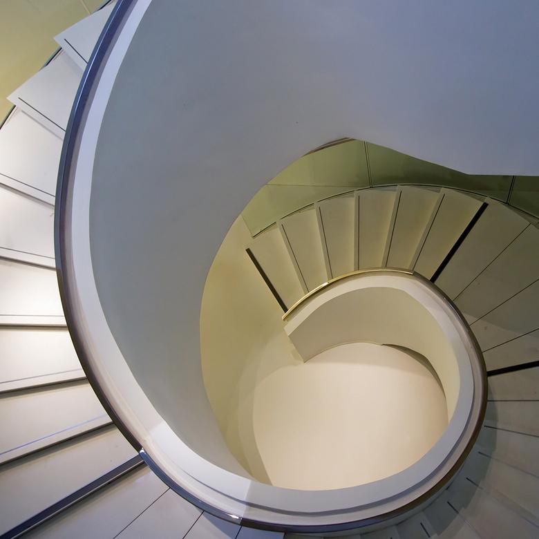 Drents Museum Assen 11 - De trap van boven.