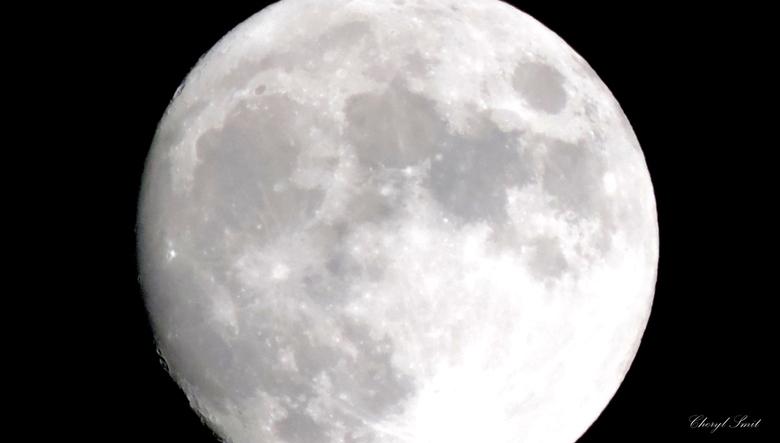 Moon is shining - Volle maan