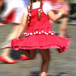 dansend kind