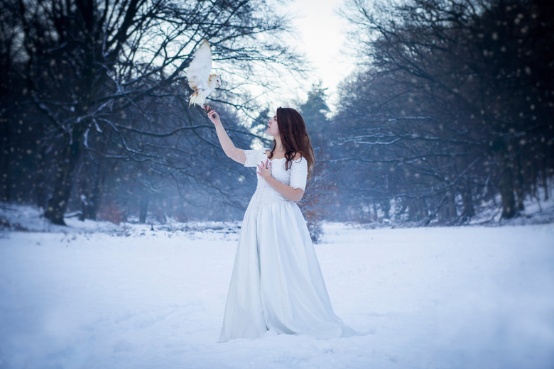 Snowqueen  - Model: Loes Gorseling