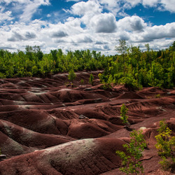 Red Clay Hills, Canada