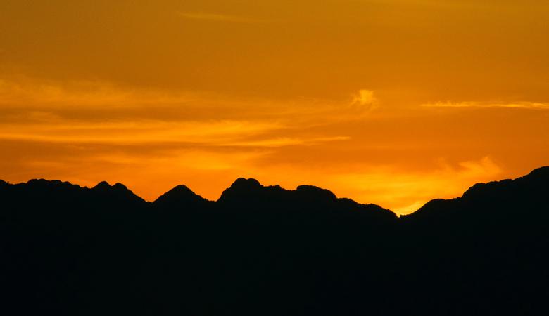 zonsondergang Torre Picentino 2