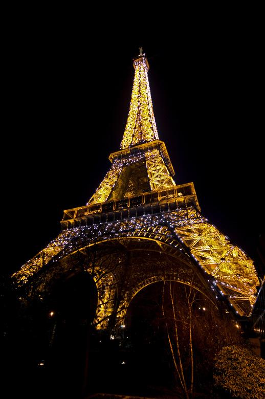 Tour de Eiffel 2 - Nu een keer 'snachts geprobeerd.