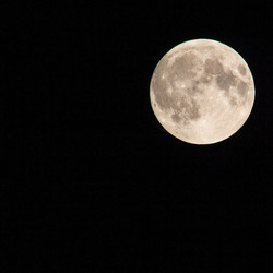 Volle maan in aanloop naar bloedmaan