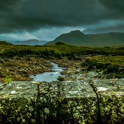 Darkness over Skye