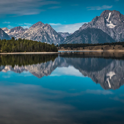 Colter bay lake Grand Teton