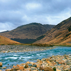 Schotland  Highlands Panorama