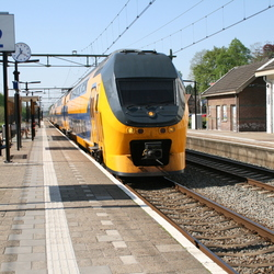 Trein in volle vaart