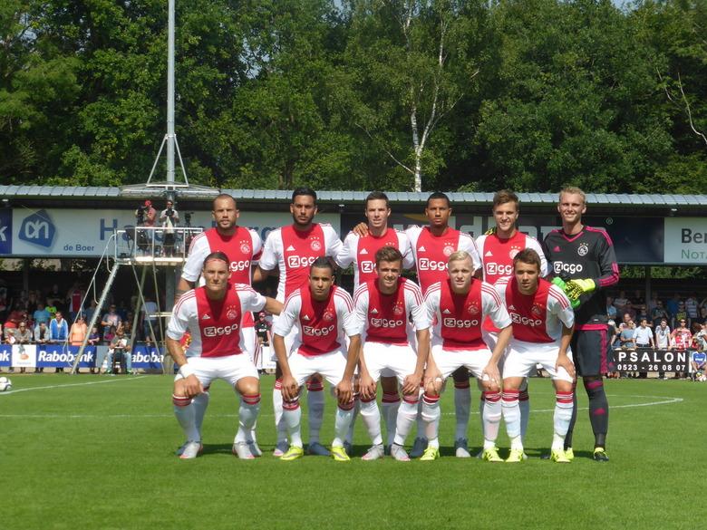 Selectiefoto Ajax - Vrijdag 10 juli als persfotograaf aanwezig mogen zijn bij de oefenwedstrijd Ajax-Nordsjaelland.