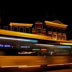Bus op de Grote Markt