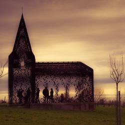 Doorkijkkerkje Borgloon Limburg België