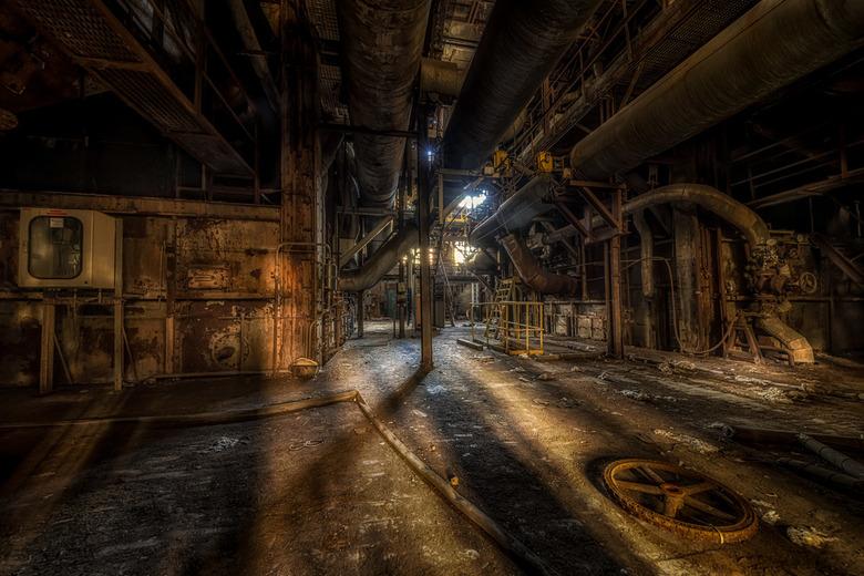 Rusty Dusty - Roestig fabriekje, zo zie ik ze het liefst!