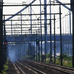 zinderende spoorweg