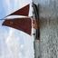 zeilboot op het Markemeer bij Hoorn