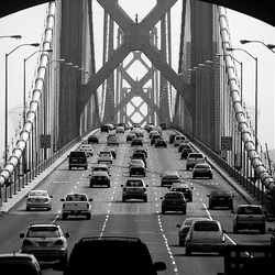 San Francisco Oakland Bay Bridge (oude)